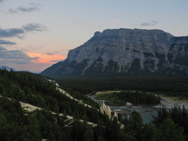 Rundle on a clear day