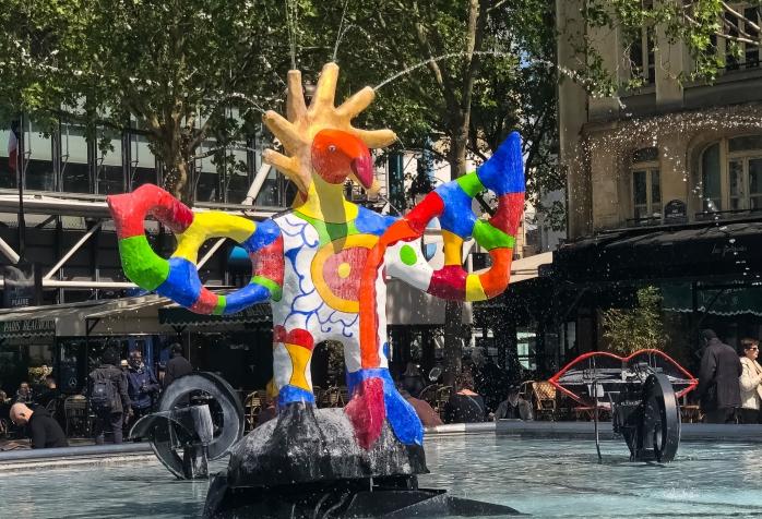 Stravinsky Fountain 3