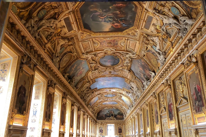 Louvre Ceiing 4
