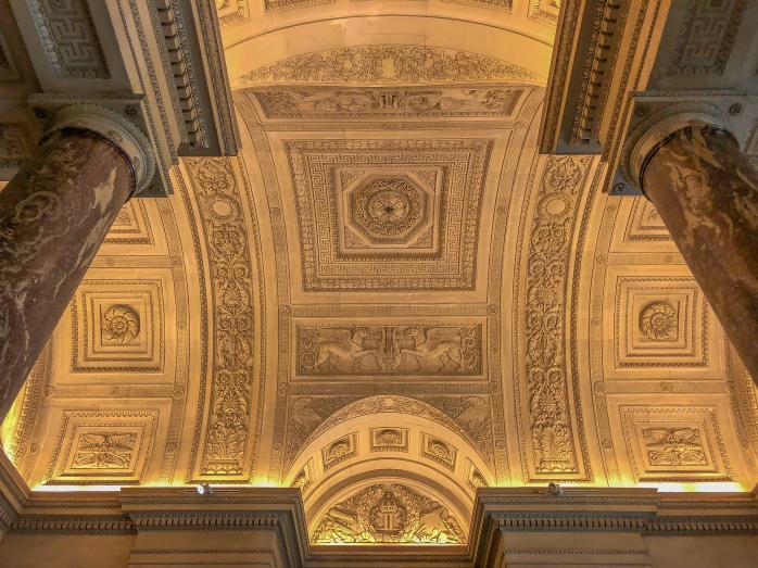 Louvre ceiling 2