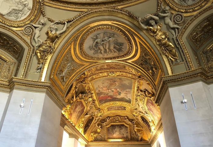 Louvre Ceiling 5