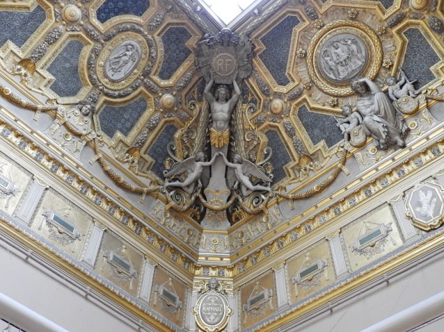 Louvre Ceiling 6
