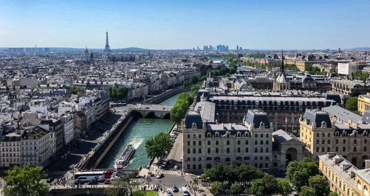 view from Towers of Notre Dame 2